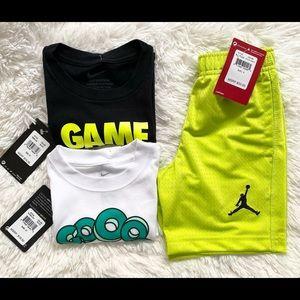 Nike and Jordan boys bundle